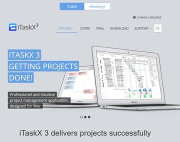 ITaskX3 Mac Project Management Software