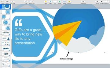 Adjust a Keynote GIF Image