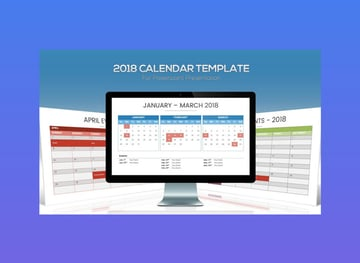 2018 Calendar Template for PowerPoint