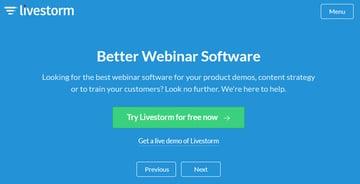 Livestore webinar software