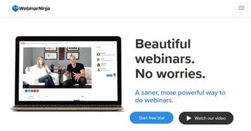WebinarNinja webinar tool