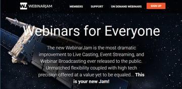 WebinarJam webinar tool