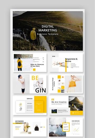 Digital Marketing Business PowerPoint Template