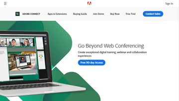 Adobe Connect web conferencing software