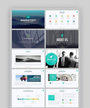 Marketyofy Ultimate PowerPoint Presentation Inspiration Template