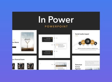 In Power PowerPoint Inspiration Template