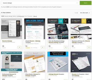 GraphicRiver InDesign Resume
