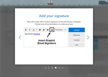 add a signature to your new outlookcom email