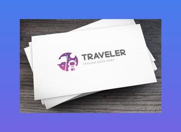 Traveler Logo Template