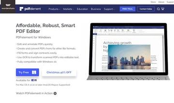 PDFElement Adobe Acrobat alternative