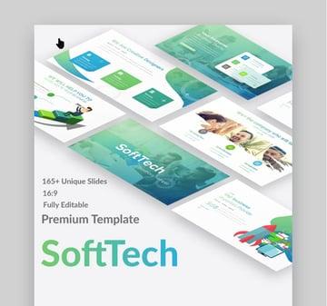 SoftTech PowerPoint Template