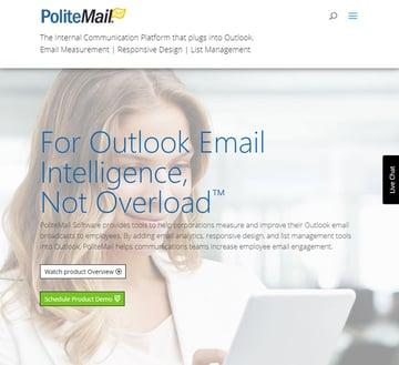 PoliteMail Outlook plugin