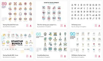 Envato Elements icons