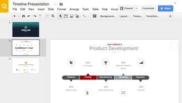 Finished Google Slides Timeline