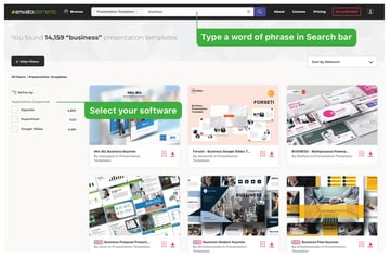 Find a presentation template