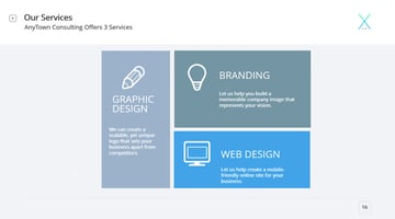 Our services professional template
