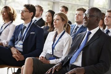 Business presentation Audience