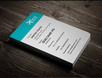 Creative Boarding Pass Business Card