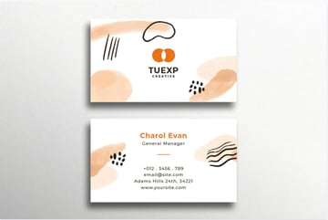 Creative Professional Business Card Template