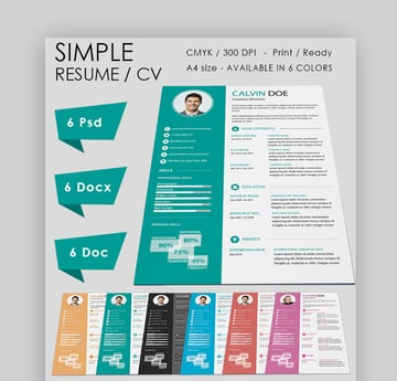 Simple Resume - Clean and Modern Resume Template
