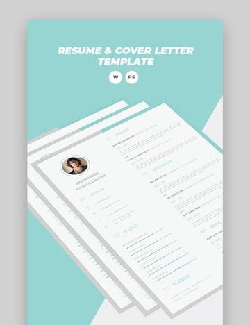 Minimal Resume - Fresh Resume Template
