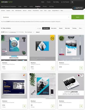 Brochure Design Templates on GraphicRiver