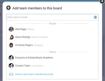 Mondaycom Project Management - Add People to Board by Name