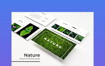 PowerPoint Template With Nature Theme