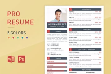 Resume with Columns