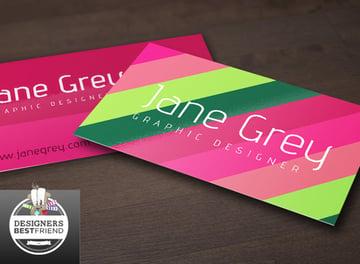Colorful Free AI Business Card Template