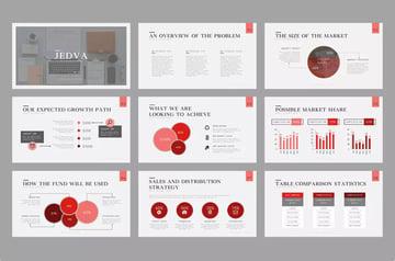 Keynote Presentation Pitch Deck