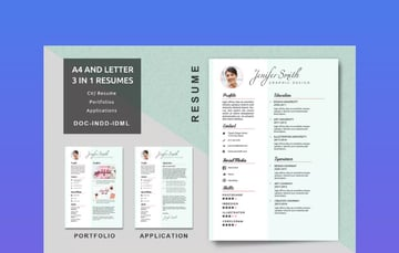 Creative Resume Professional MS Word Resume Template