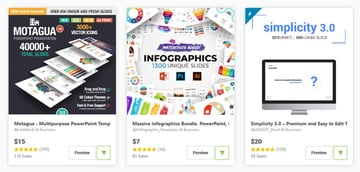 PowerPoint Templates on GraphicRiver