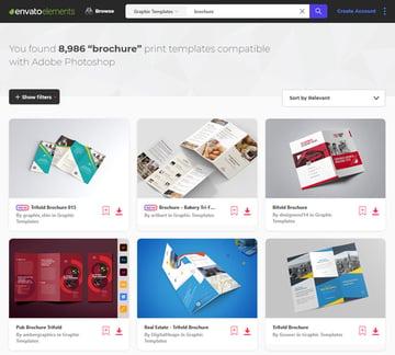 Photoshop Brochure Templates Envato Elements