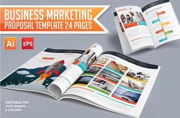 Business Digital Marketing Proposal Template