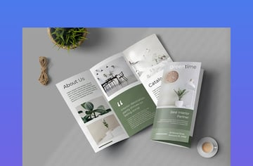 Properties Trifold Brochure Promotion