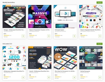 Popular PowerPoint Templates on GraphicRiver