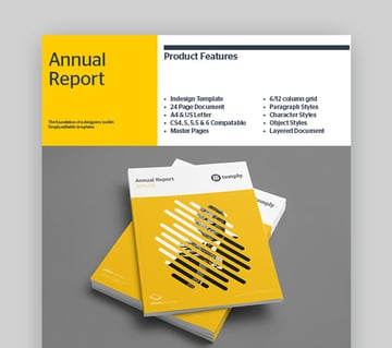 Temp-ly Nonprofit Annual Report Template