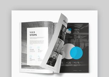 Realstar Flexible Annual Report Template