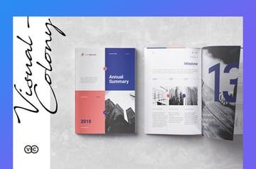 Visual Colony Uni Brand Nonprofit Annual Report