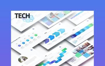 Tech - Multipurpose PowerPoint Agenda PPT Slide Presentation
