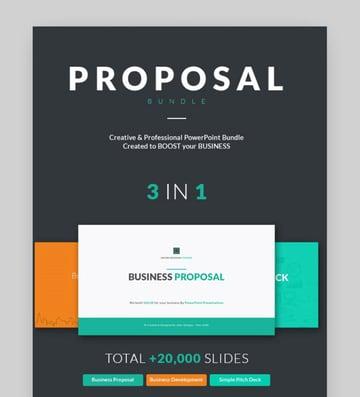 business proposal presentation bundle