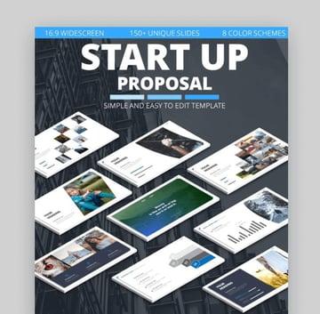startup business proposal slide