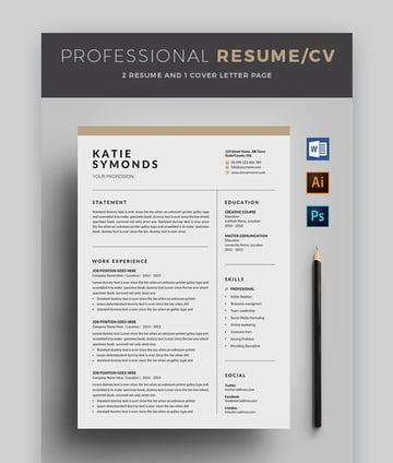 Professional ResumeCV