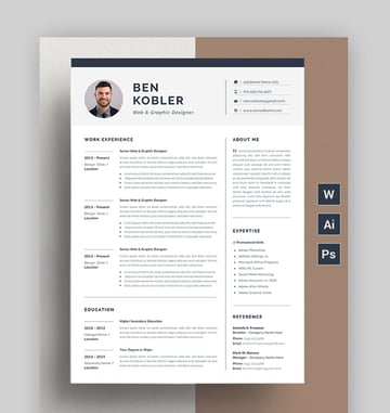 Resume Minimal Resume Template
