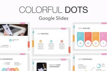 Colorful Google Slides theme to change color