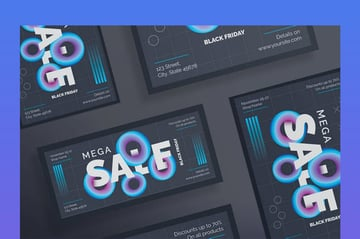 Black Friday Sale Flyer and Poster Template