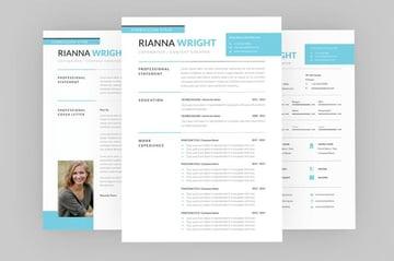 Riannna CopyWriter Resume Designer