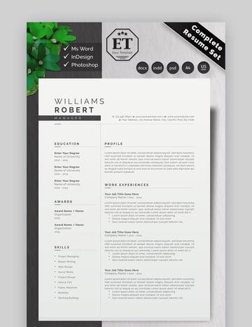 Graphic Designer Manager Resume