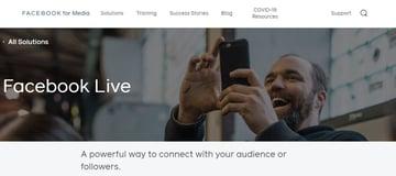 FacebookLive webinar software